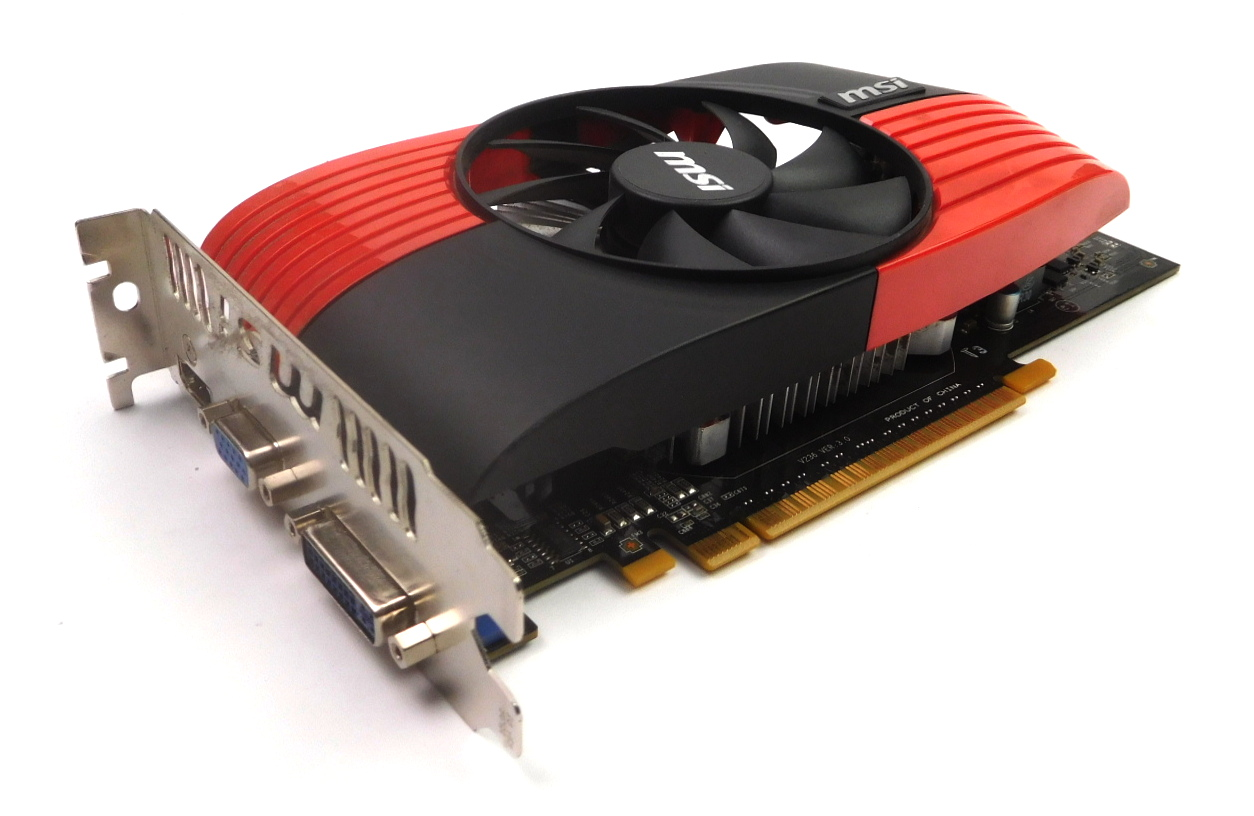 MSI nVidia GeForce GTS 450 1GB PCI-E Graphics Card N450GTS-MD1GD5 HDMI/DVI/VGA