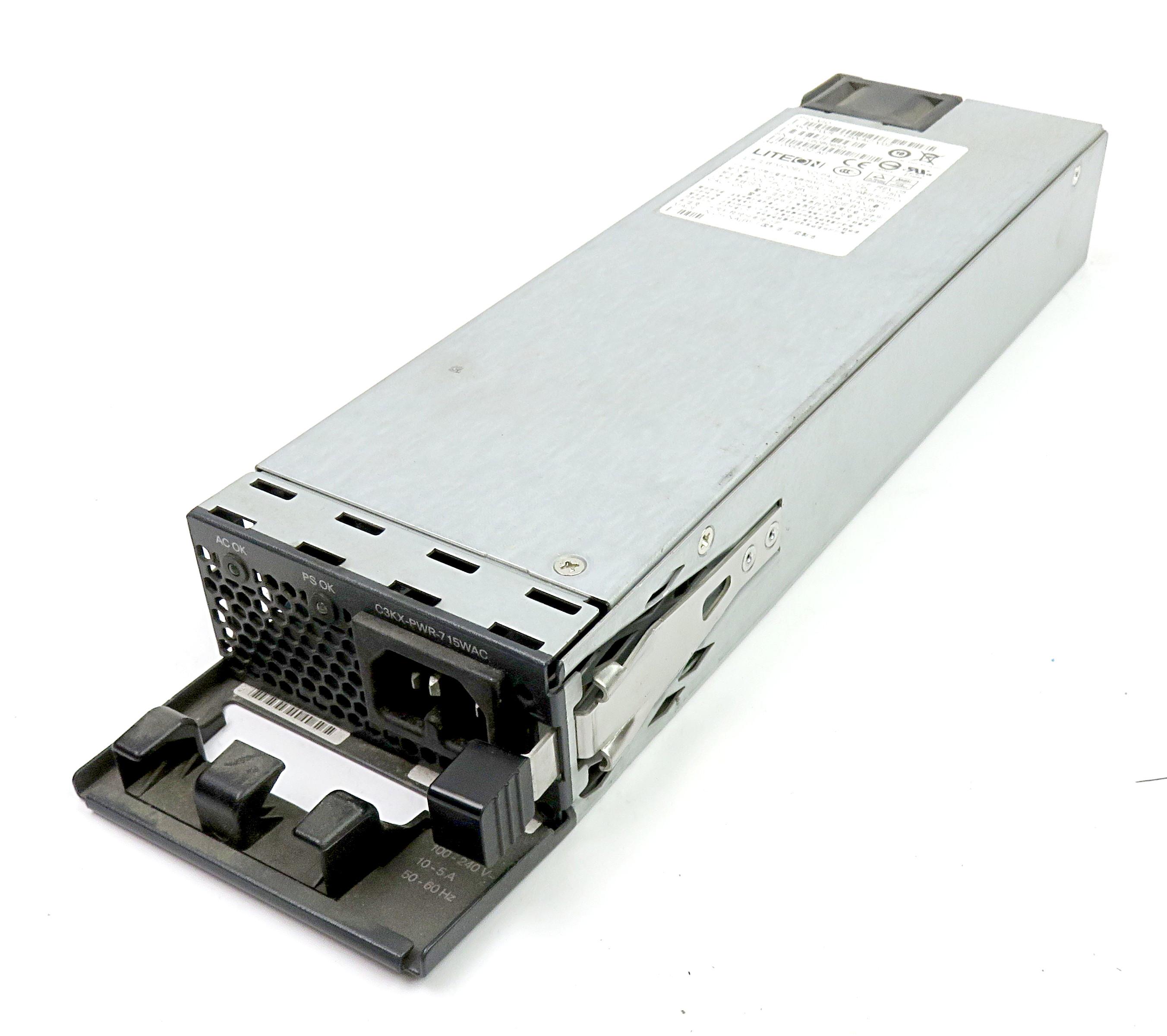 Cisco C3KX-PWR-715WAC V02 715W Redundant PSU f/ XPS-2200 - Lite-on PA-1711-1-LF