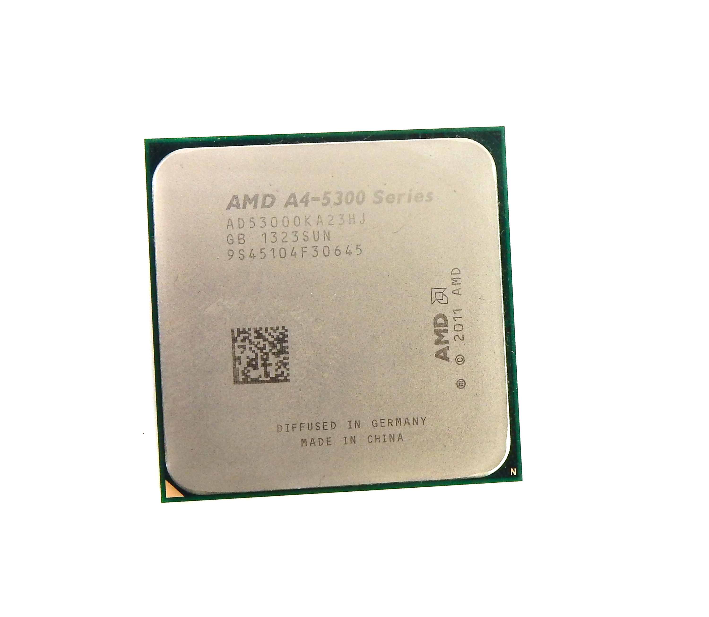 AMD AD53000KA23HJ A4-5300 3.4Ghz Dual Core Socket FM2 CPU