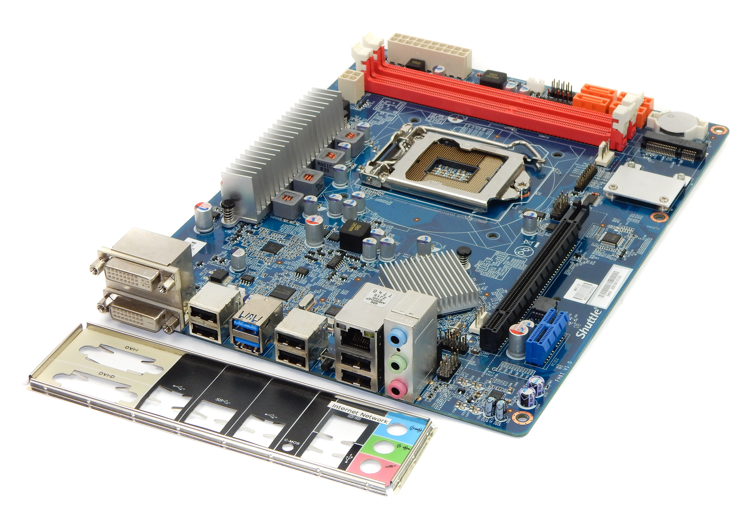 Shuttle SH61R LGA1155 USB3.0 Desktop Motherboard