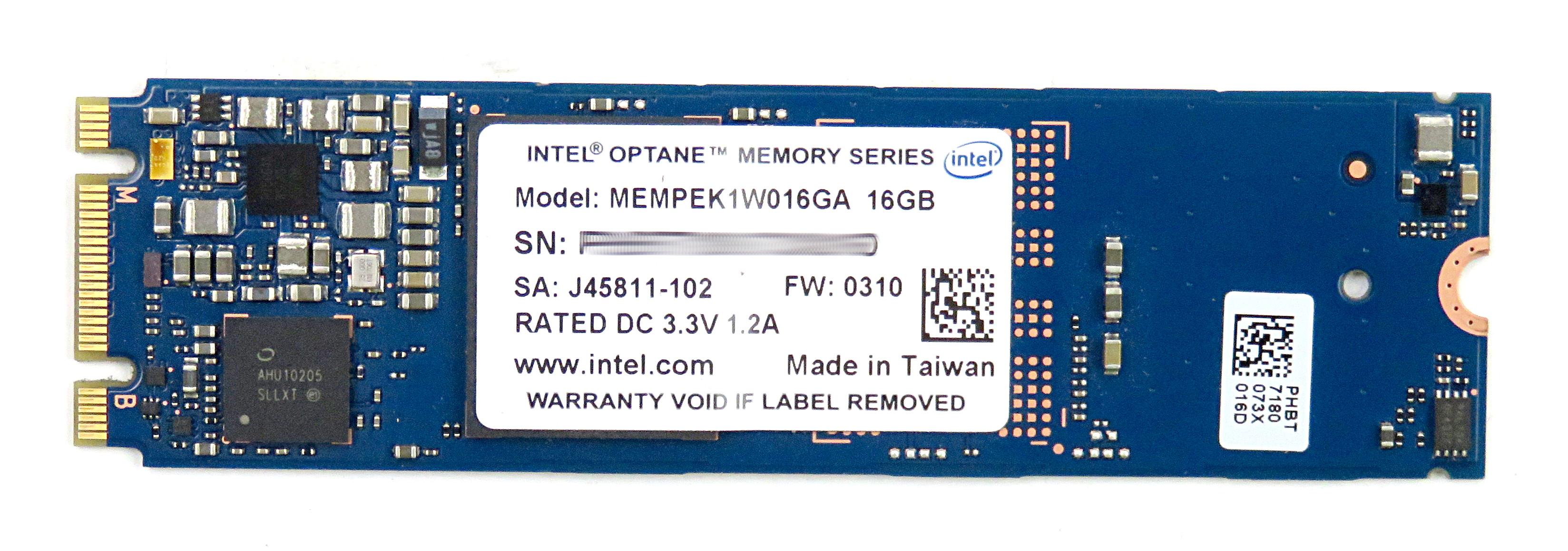 Intel Optane 16GB M.2 3D XPoint HDD Accelerator MEMPEK1W016GA