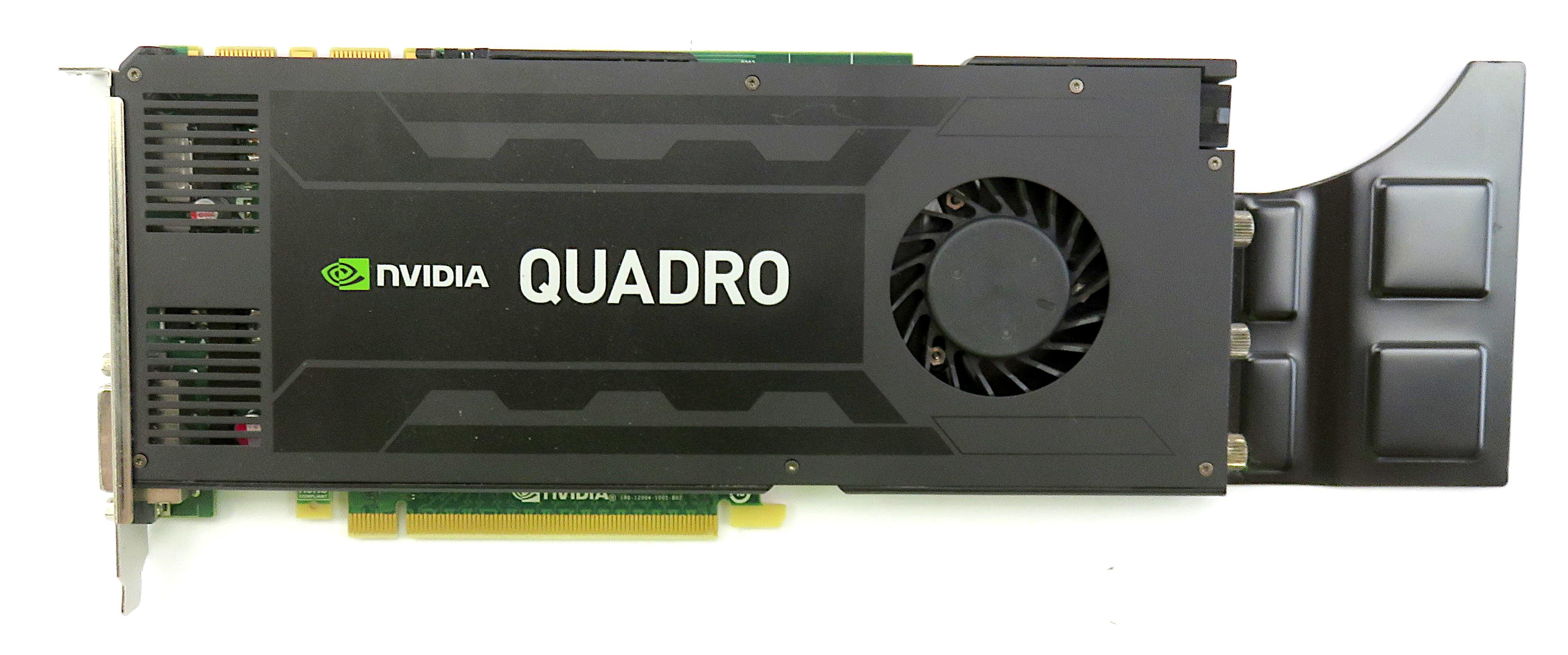 Dell 0J4F85 Nvidia Quadro K4200 4GB GDDR5 PCIe Workstation Graphics Card