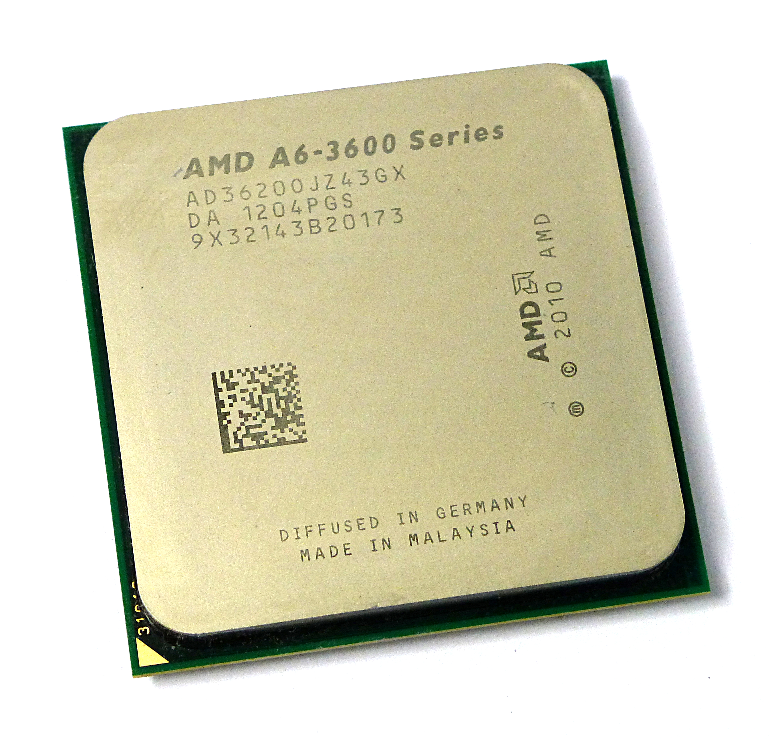 AMD AD36200JZ43GX A6-3600 2.1GHz Socket FM1 Quad Core Processor