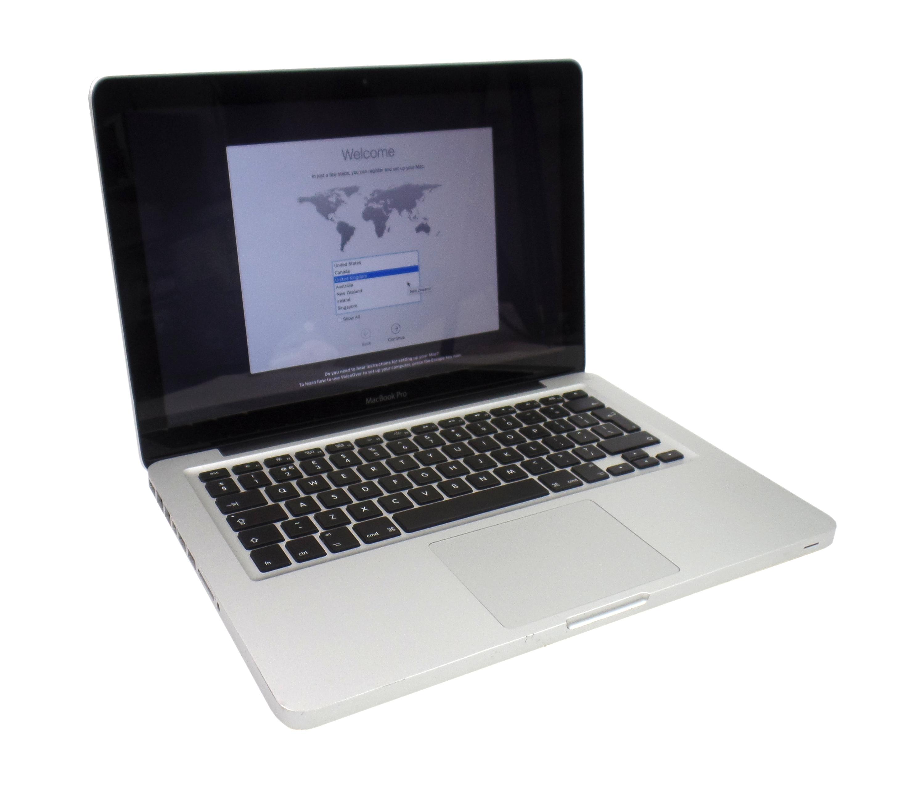 "Apple MacBook Pro 13"" 2011 2.4GHz Core i5 4Gb RAM 500 HDD A1278 C02H3YYJDV13"