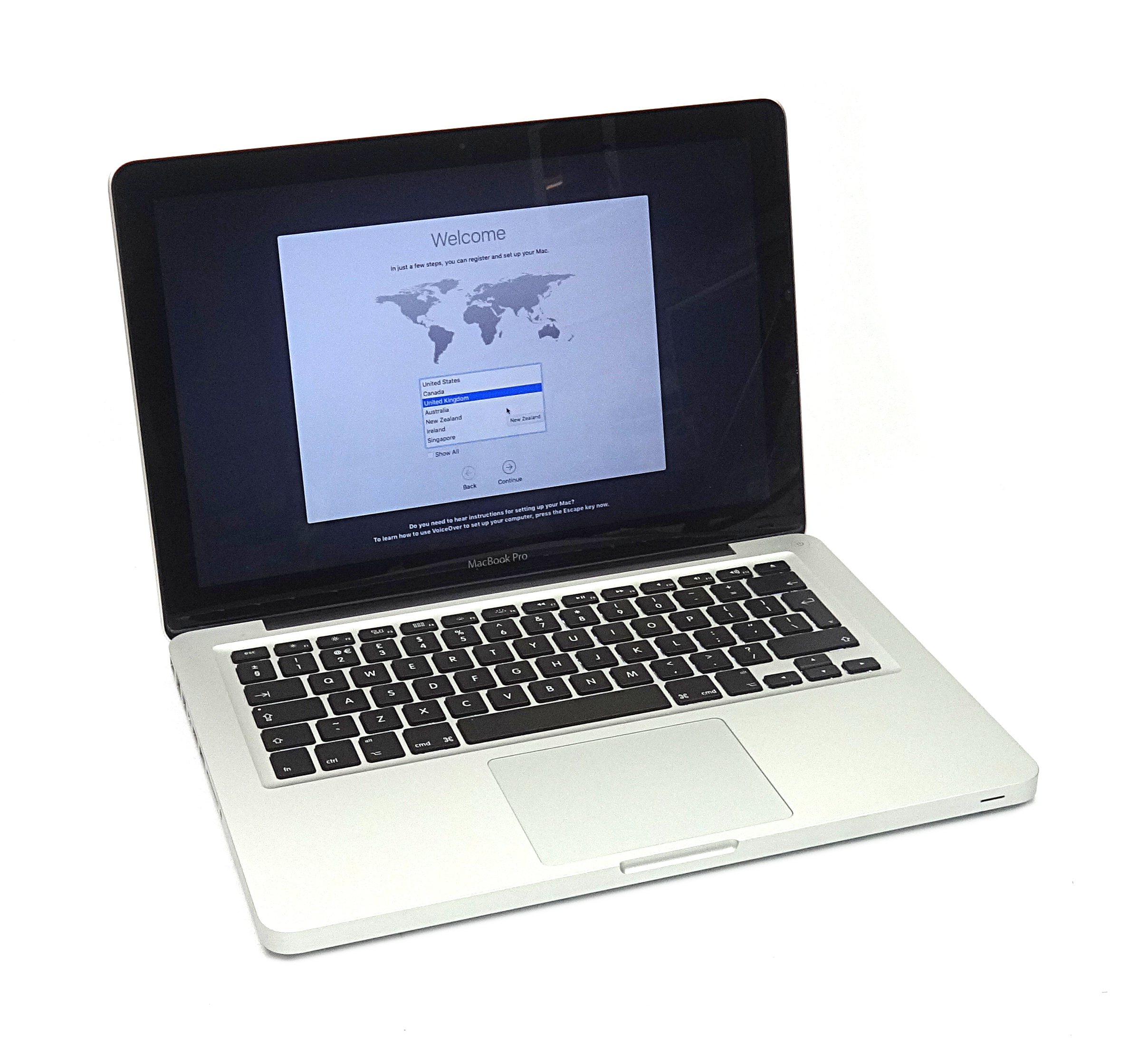 "Apple MacBook Pro 13"" 2011 2.4GHz Core i5 4Gb RAM 250 HDD A1278 C17GM8FZDV13"