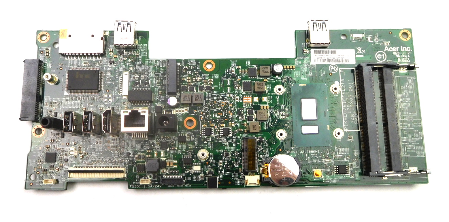 Acer DB.BBR11.001 Aspire C24-865 AiO PC Motherboard /w BGA Core i3-8130U CPU