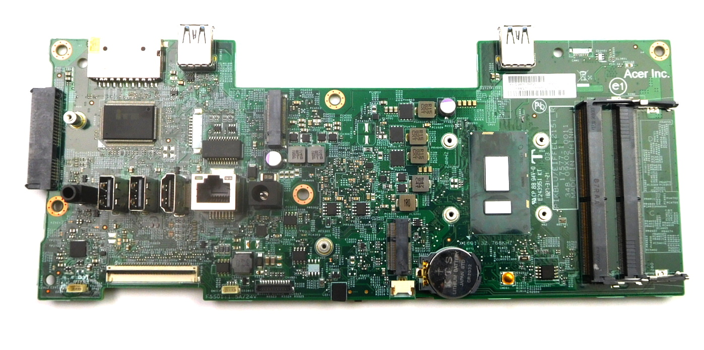 Acer DB.BBS11.001 Aspire C24-865 AiO PC Motherboard /w BGA Core i5-8250U CPU