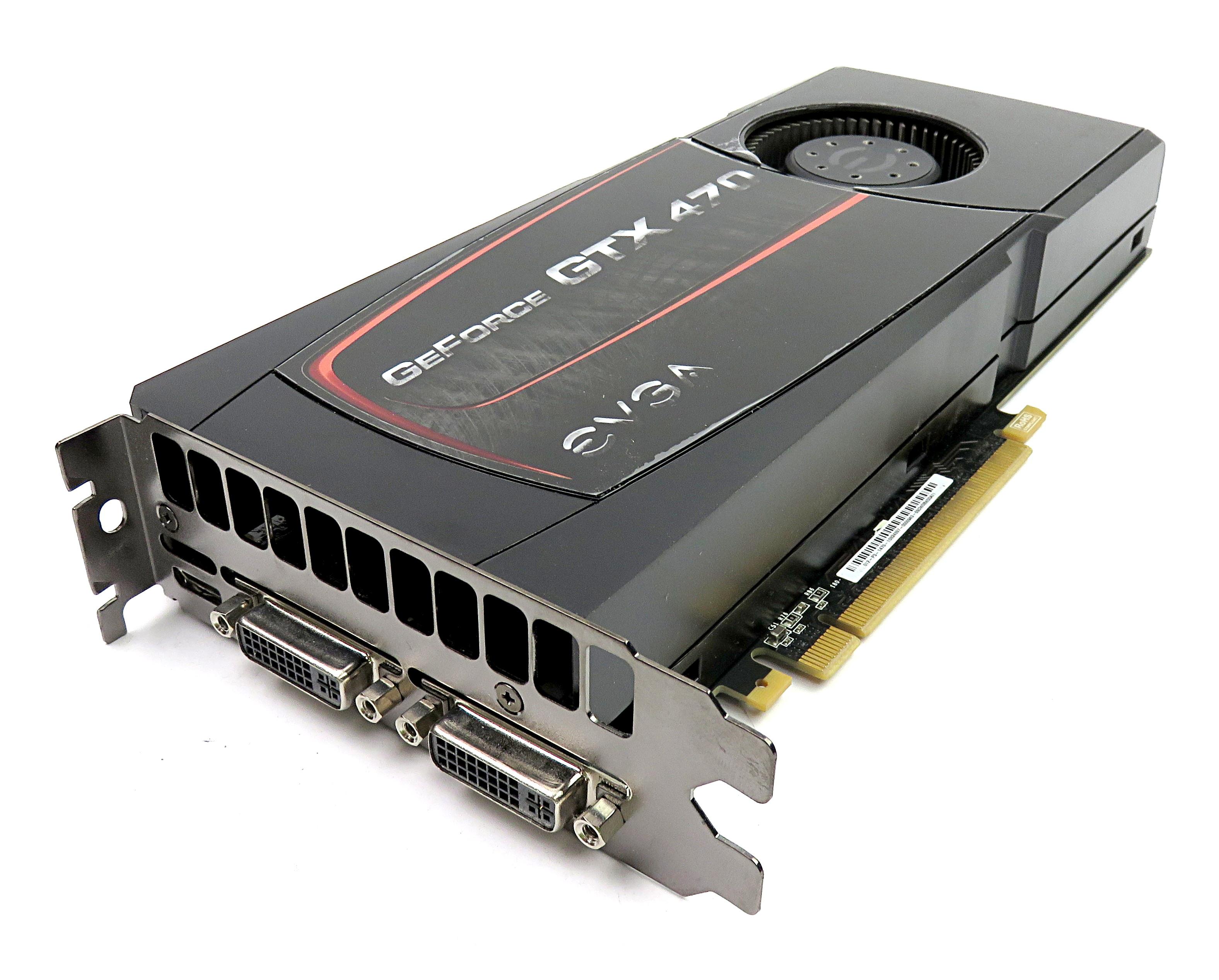 Details about EVGA nVidia GTX 470 1280MB GDDR5 Graphics Card 012-P3-1470-ER  mHDMI/2xDVI