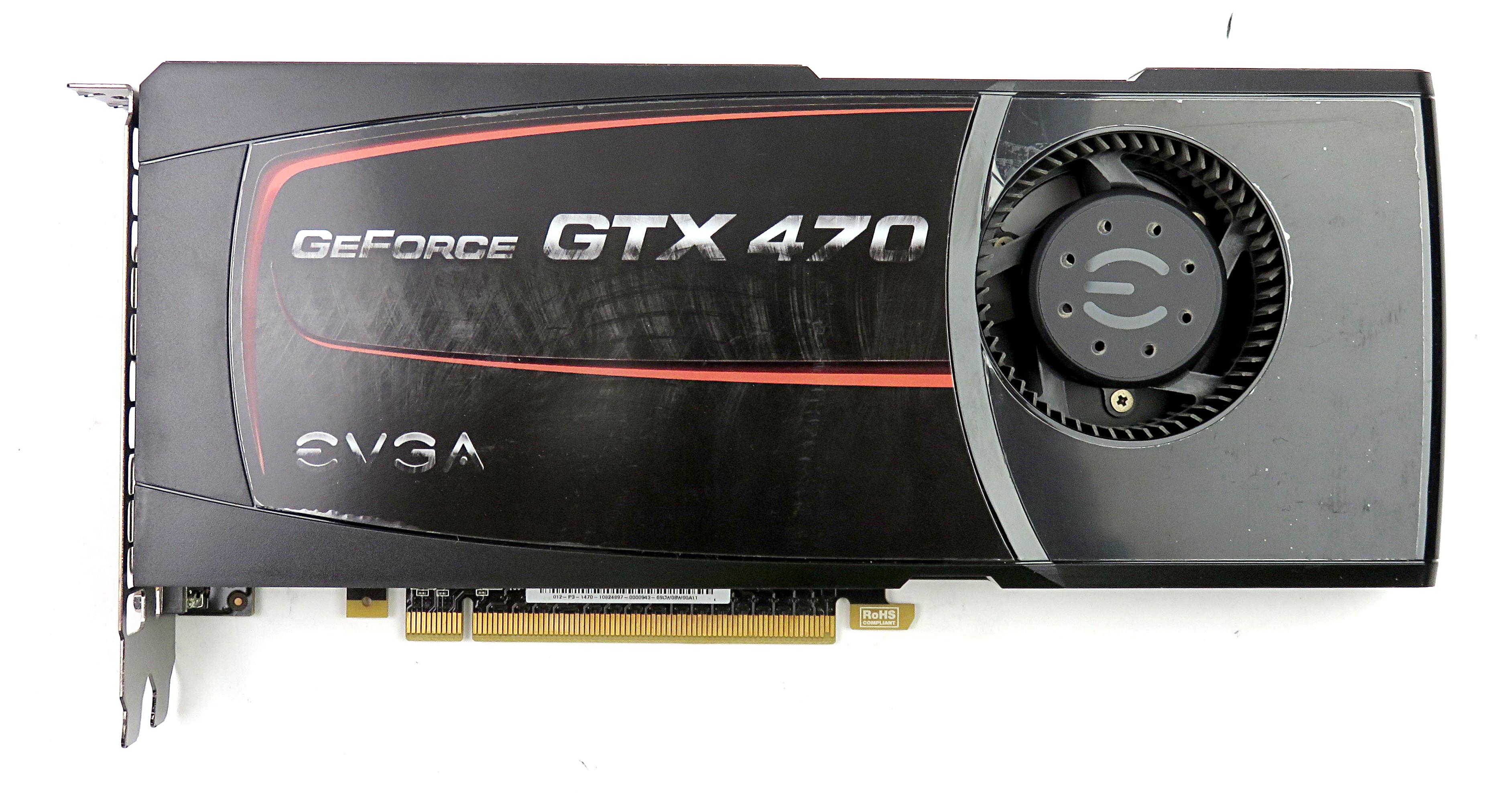 EVGA nVidia GTX 470 1280MB GDDR5 Graphics Card 012-P3-1470-ER mHDMI/2xDVI