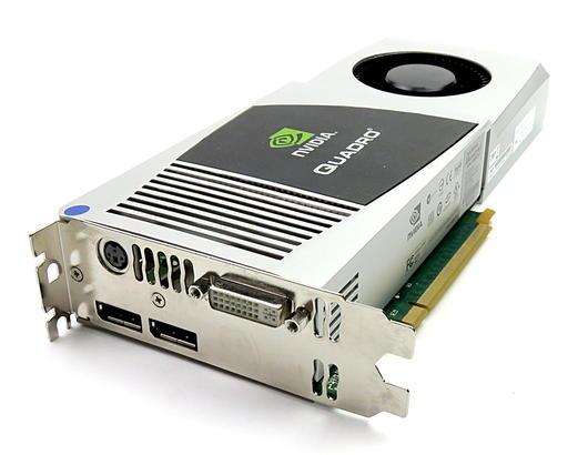 PNY nVidia Quadro 4800 1.5GB GDDR3 Graphics Card VCQFX4800-PCIE-T 2xDP/DVI/ST