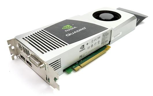 Lenovo 48R2792 nVidia Quadro 4800 1.5GB GDDR3 Graphics Card 2xDP/DVI/Stereo