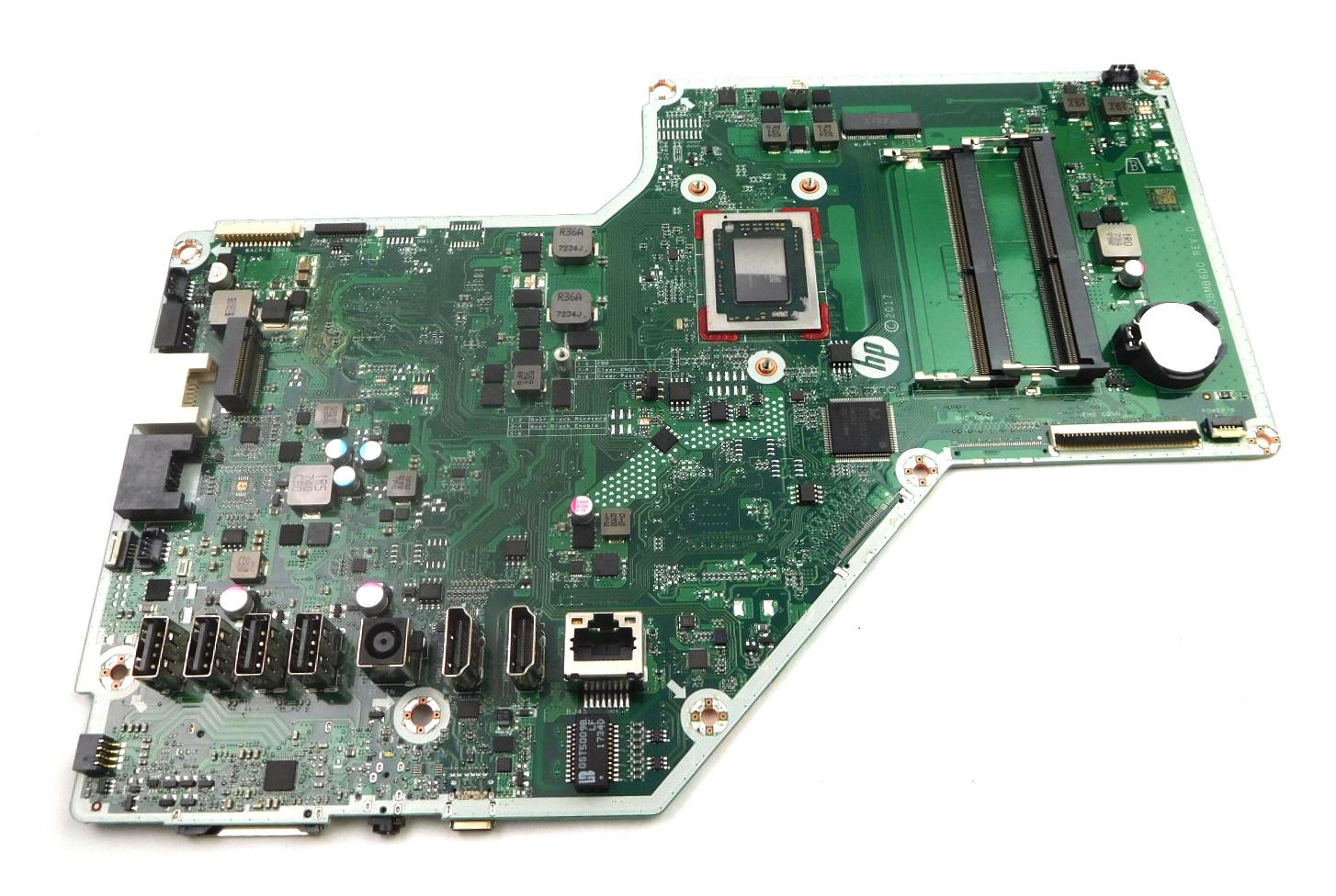 922849-002 HP 24-r012na AiO PC Motherboard w/ AMD A12-Series A12-9730P CPU