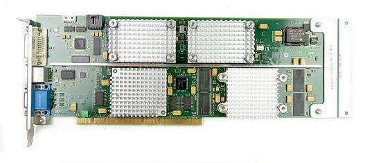 HP Visualize FX10 PCI-X 3.3V 128MB A1299-66503 C3600 Unix Workstation Video Card