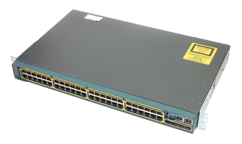 Cisco WS-C2960S-48TS-L V04 Catalyst 2960-S Series 48-Ports Gigabit Switch