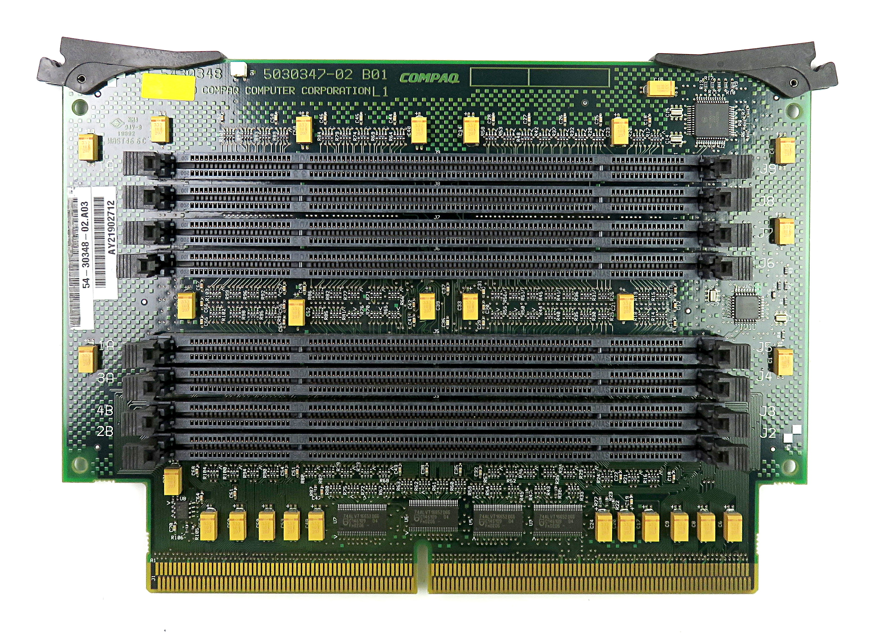 54-30348-02.A03 8-Slot Memory Card 5030347-02 f/ HP Compaq DEC Alphaserver ES45