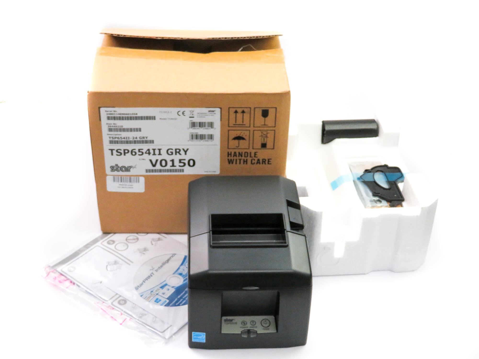 *New* Star TSP650 Thermal ePOS Receipt Printer (w/o Interface)- TSP654II-24 GRY