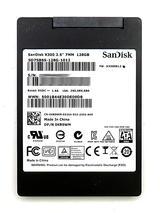 "Dell KR9WM SanDisk X300 128GB 2.5"" 7mm SATA SSD SD7SB6S-128G-1012"