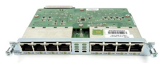 Cisco EHWIC-D-8ESG-P 8-Port Internal Gigabit Ethernet Module w/ PoE - Open Box