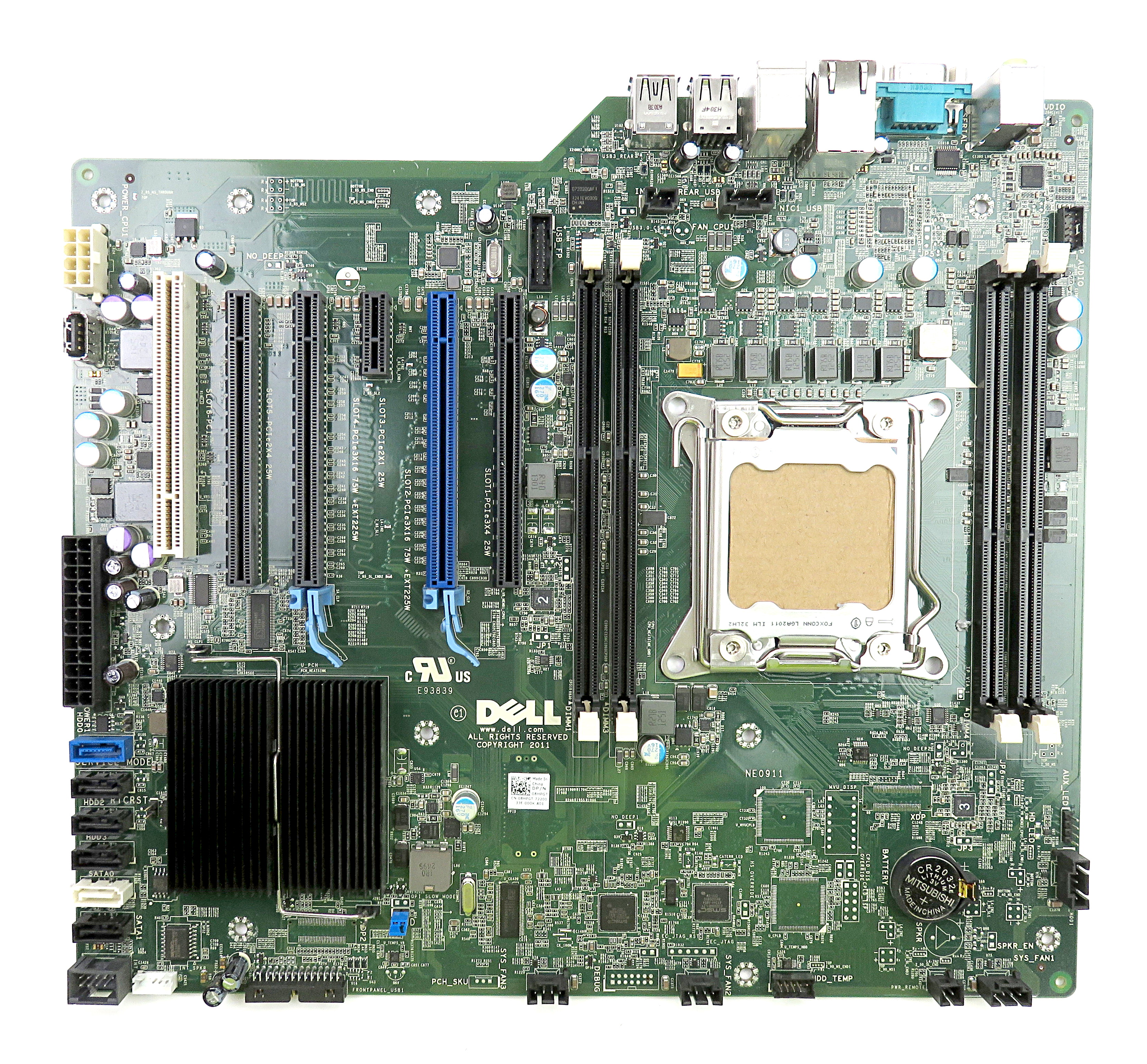 Dell 8HPGT Socket LGA2011 Mainboard f/ Precision T3600 Workstation