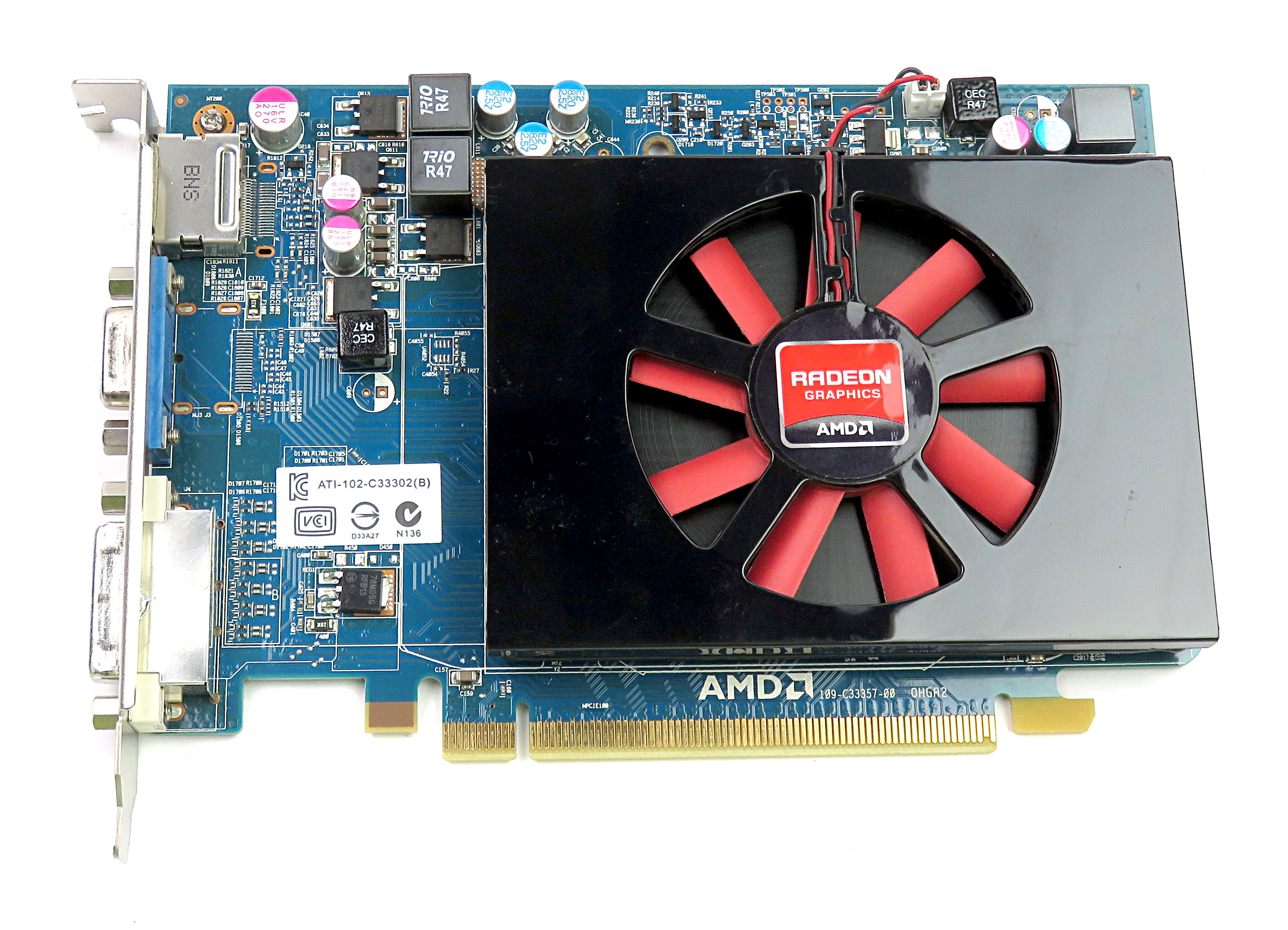 Dell WX52N AMD Radeon HD 6670 1GB GDDR5 Graphics Card VGA/DVI-D/DP