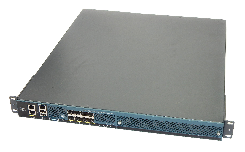 Cisco AIR-CT5508-K9 5500 Series 5508 Wireless Controller 12 AP SN:FCW1551L04R