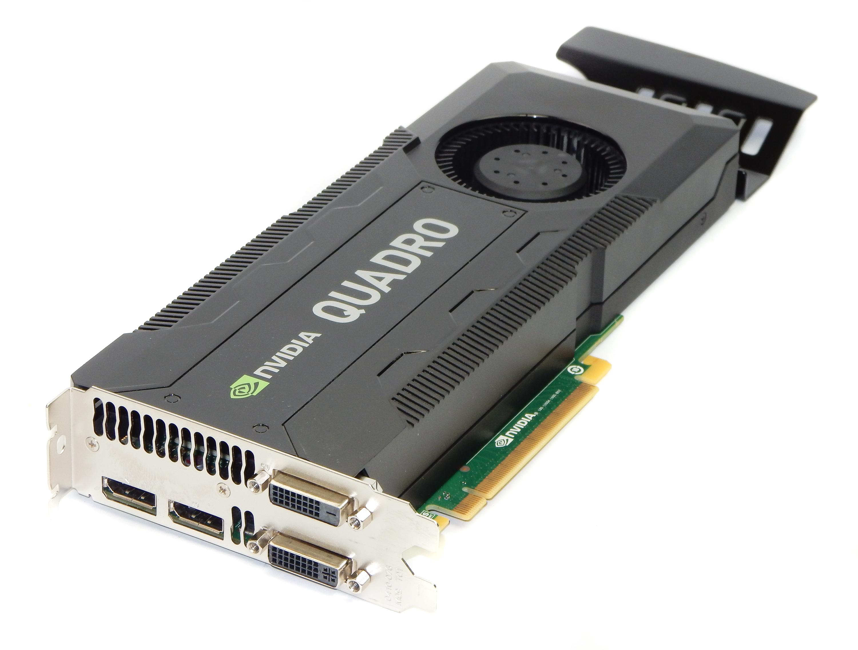 Dell RCFKT nVidia Quadro K5000 4GB GDDR5 PCI-E Dual DP DVI Graphics Card