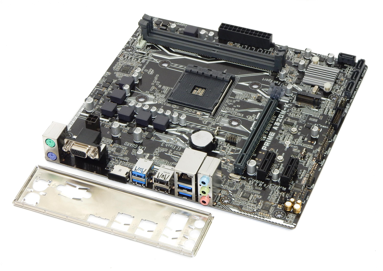 ASUS PRIME A320M-K Micro ATX Socket AM4 Motherboard