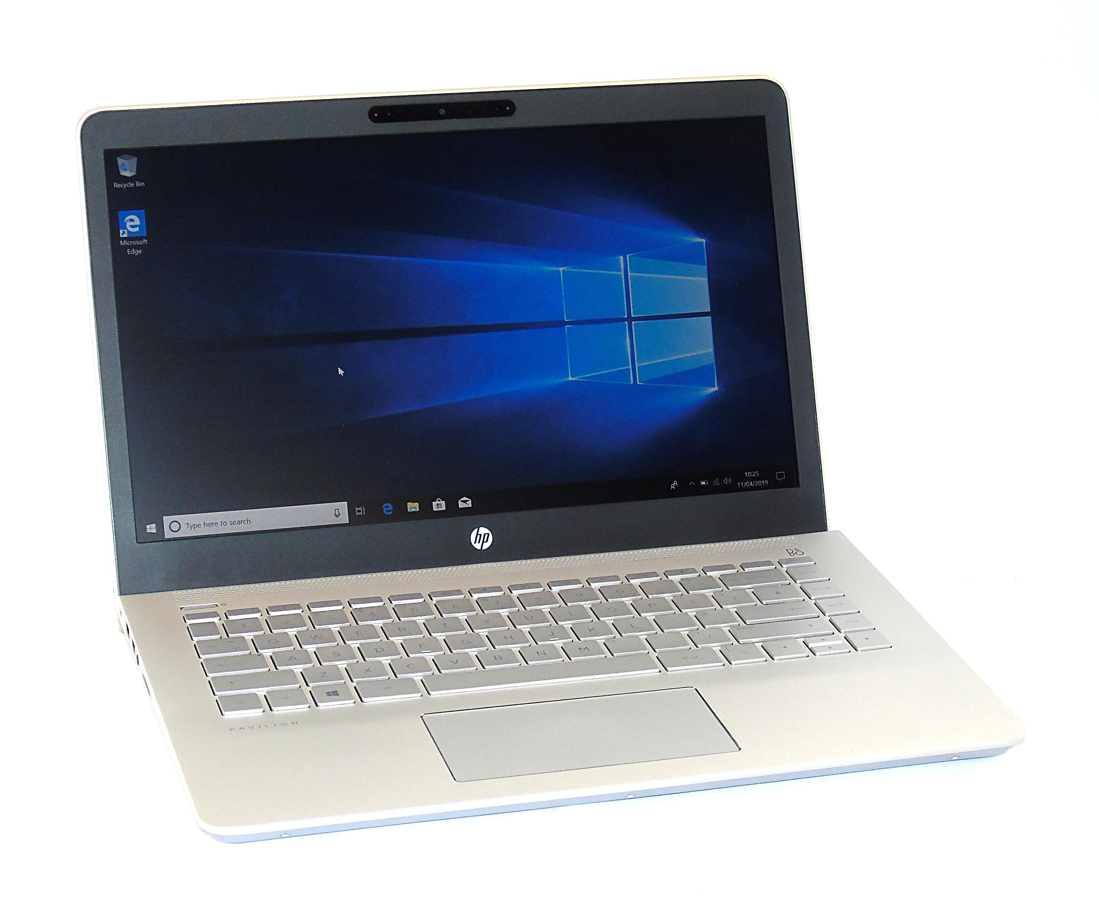 "HP Pavilion 14-BK152NA Core i5-8250U 4GB RAM 128GB SSD 14"" Display Windows 10"