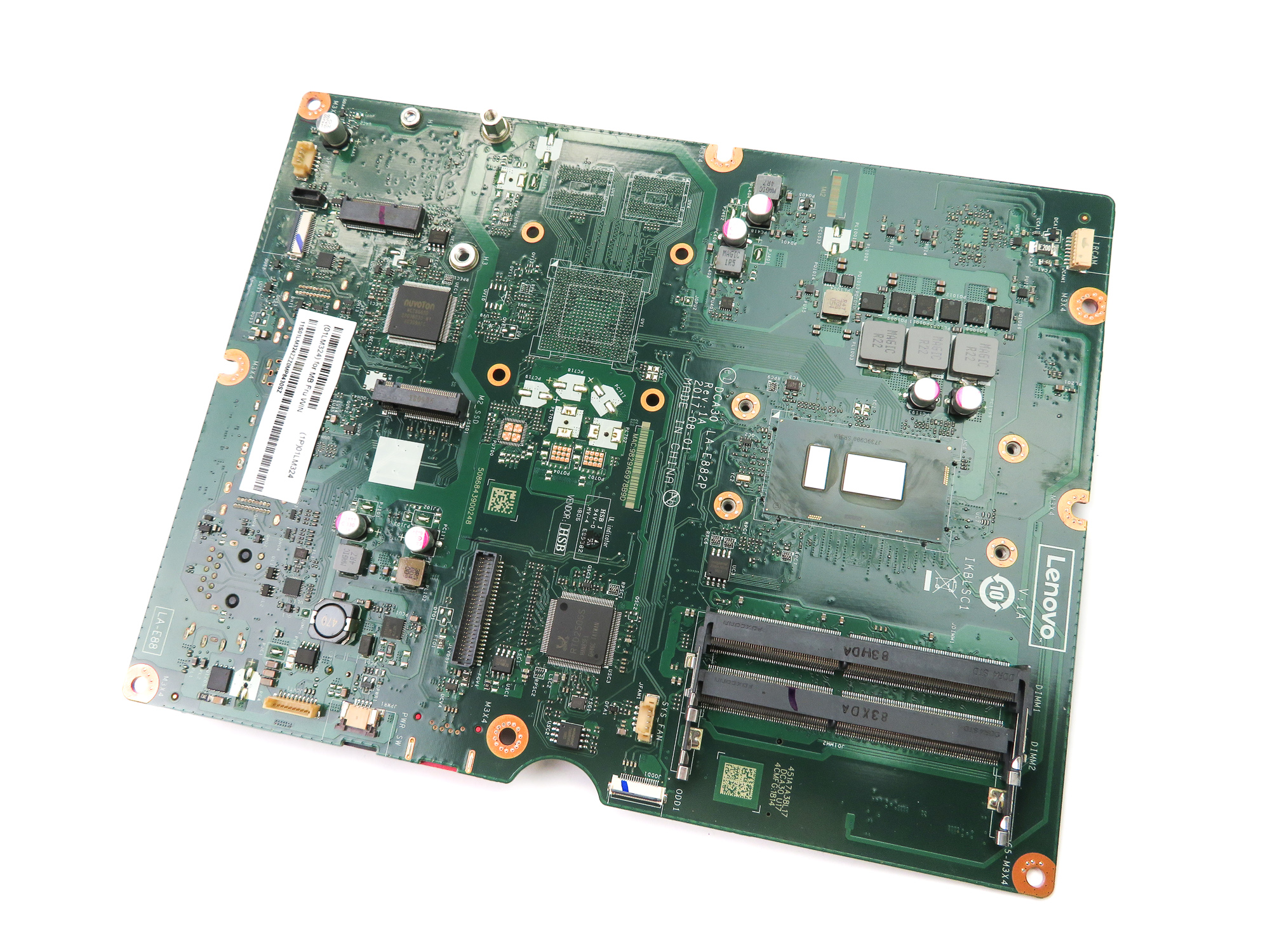 Lenovo 01LM324 Core i5+ 8th Gen 8250U Motherboard /f Ideacentre AIO 520-24IKU
