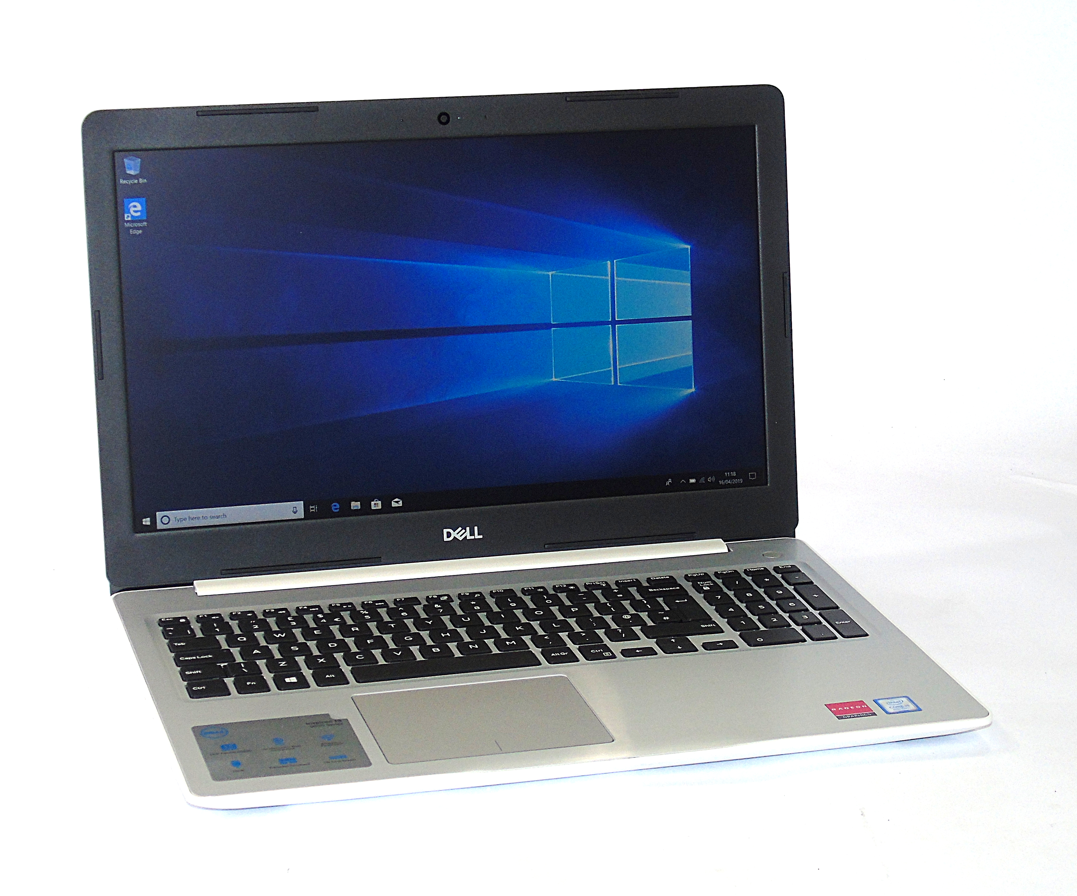 "Dell Inspiron 15 5570 Core i5-8250U 8GB RAM 256GB SSD 15.6"" Display Windows 10"