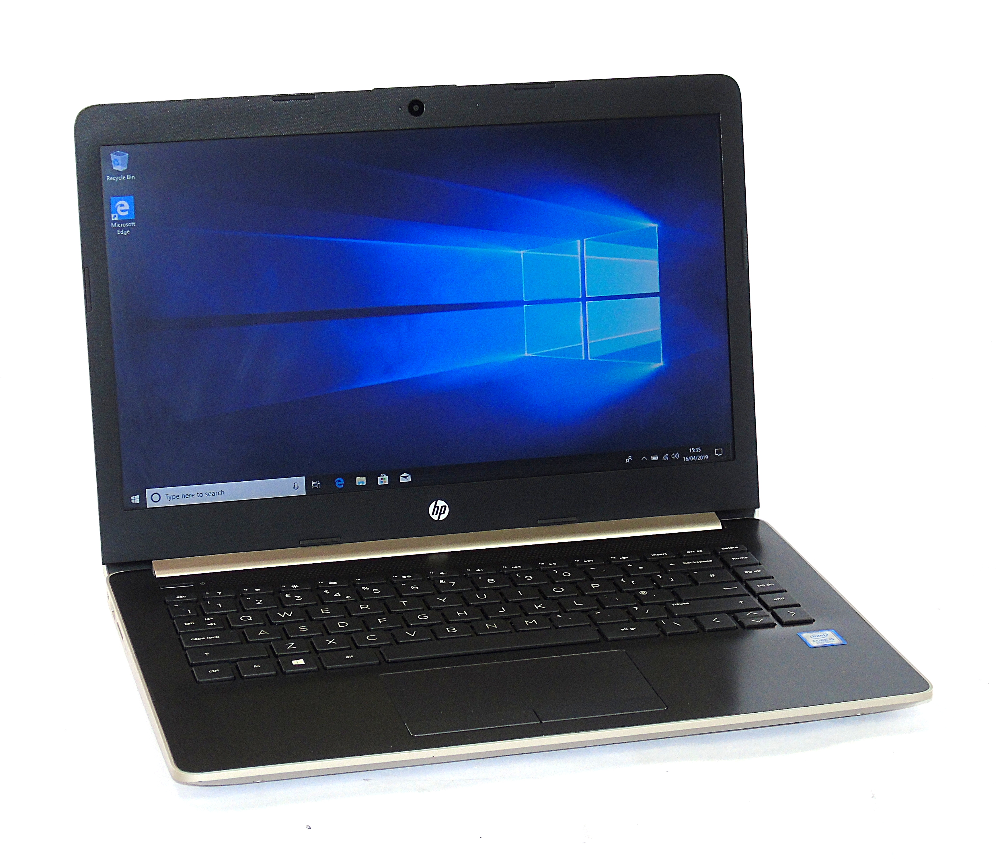 "HP 14-CK0598SA Laptop Core i5-8250U 8GB RAM 128GB SSD 14"" Display Windows 10"