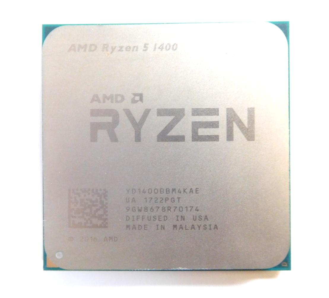 AMD Ryzen 5 1400 Quad-core 3.20GHz Socket AM4 CPU YD1400BBM4KAE