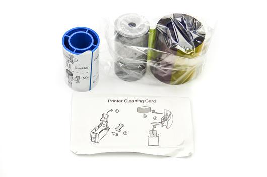 Datacard Print Color Ribbon Kit YMCKT 250 Image 534000-002 SP/SD Series
