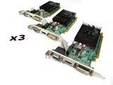 x3 EVGA 01G-P3-2625-KR GeForce GT 620 1GB VGA/HDMI/DVI PCIe Graphics Cards