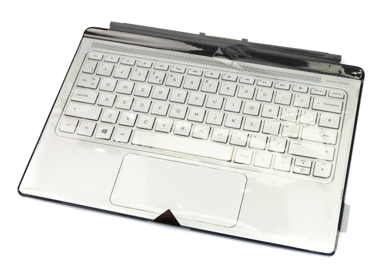 HP 830341-031 Spectre X2 12 UK Keyboard Palmrest