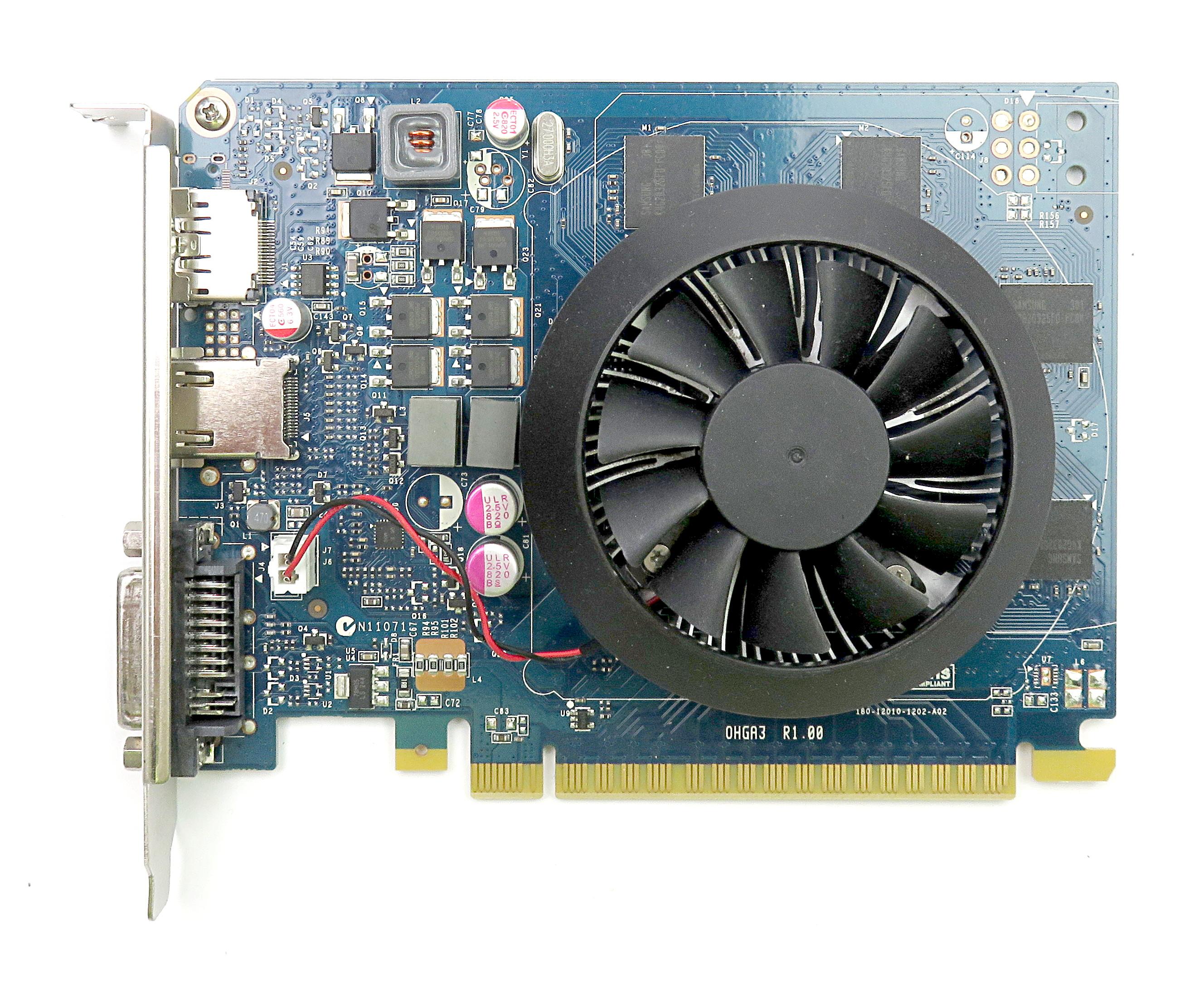 Dell CJF72 nVidia GT 640 1GB GDDR5 PCIe Graphics Card DisplayPort/HDMI/DVI-I