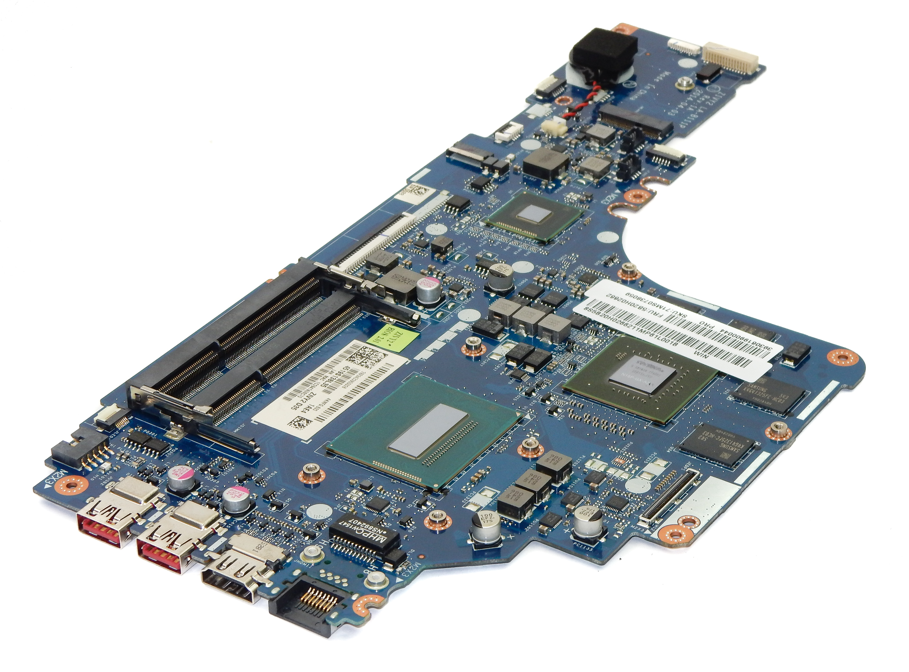 5B20H02662 Lenovo Y50-70 Motherboard with BGA Intel Core i7-4710HQ CPU
