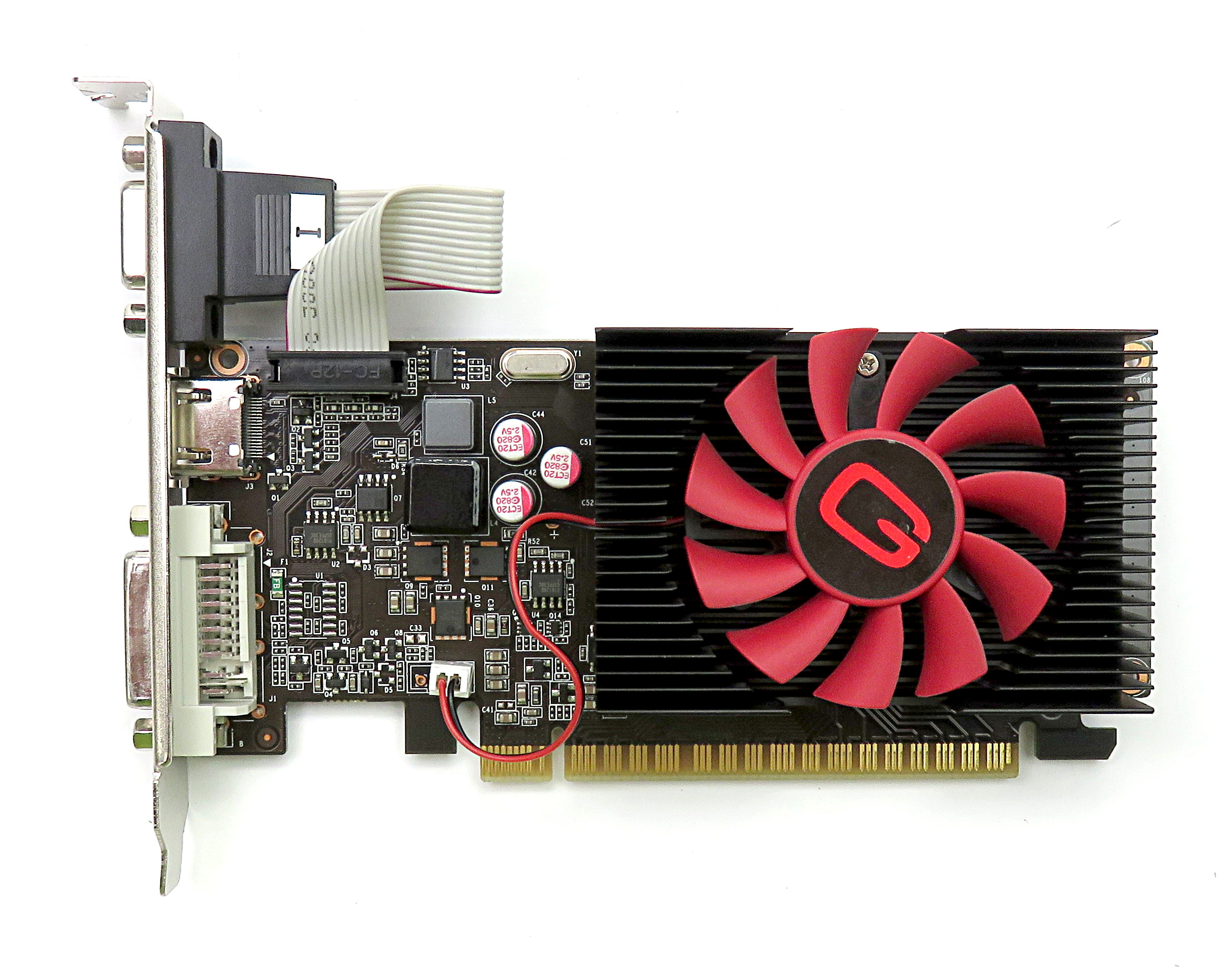 Gainward nVidia GT620 1GB DDR3 PCIe Graphics Card NEAT6200HD06-1086F V/HDMI/DVI