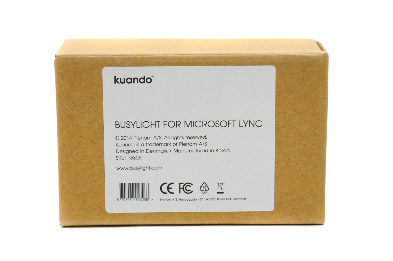 x2 New Kuando 15306 Busylight for Microsoft Lync and Skype for Business