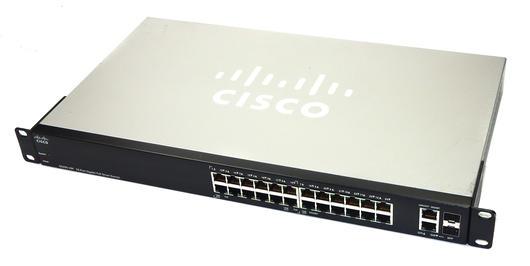 Cisco SG200-26P 26-port Gigabit PoE Smart Switch