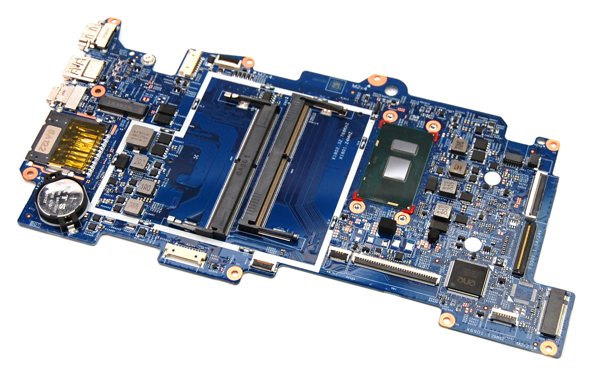 455.09301.0002 HP 868871-601 M6-AQ w/ Intel i7-7500U CPU Laptop Motherboard