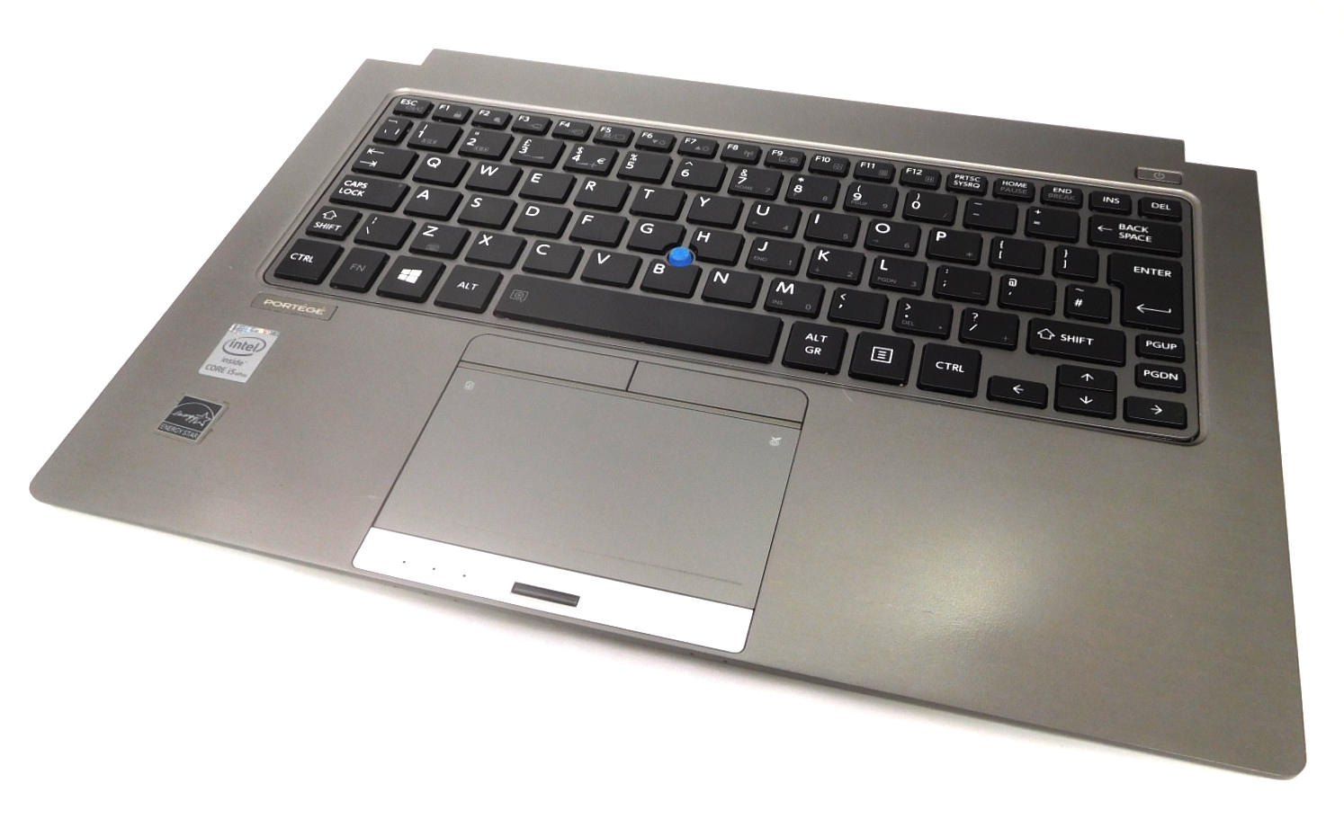 Toshiba Portege Z30 A10-P Palmrest GM903603563A w/ UK KB G83C000E53EN - Grade B