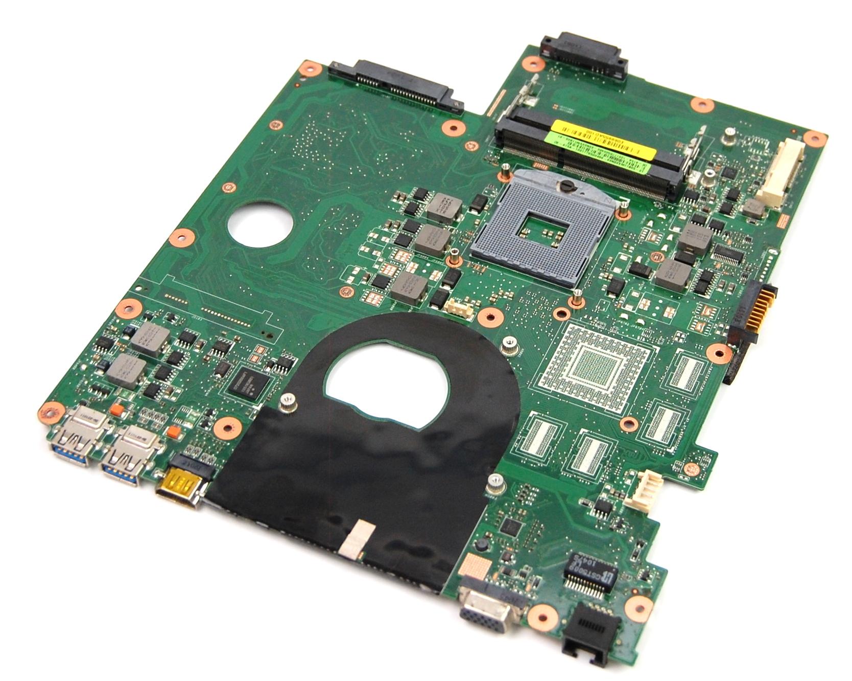 Novatech 69N0XVM11B05-01 A15A Socket rPGA-988B Laptop Motherboard - 08N1-0L14J00