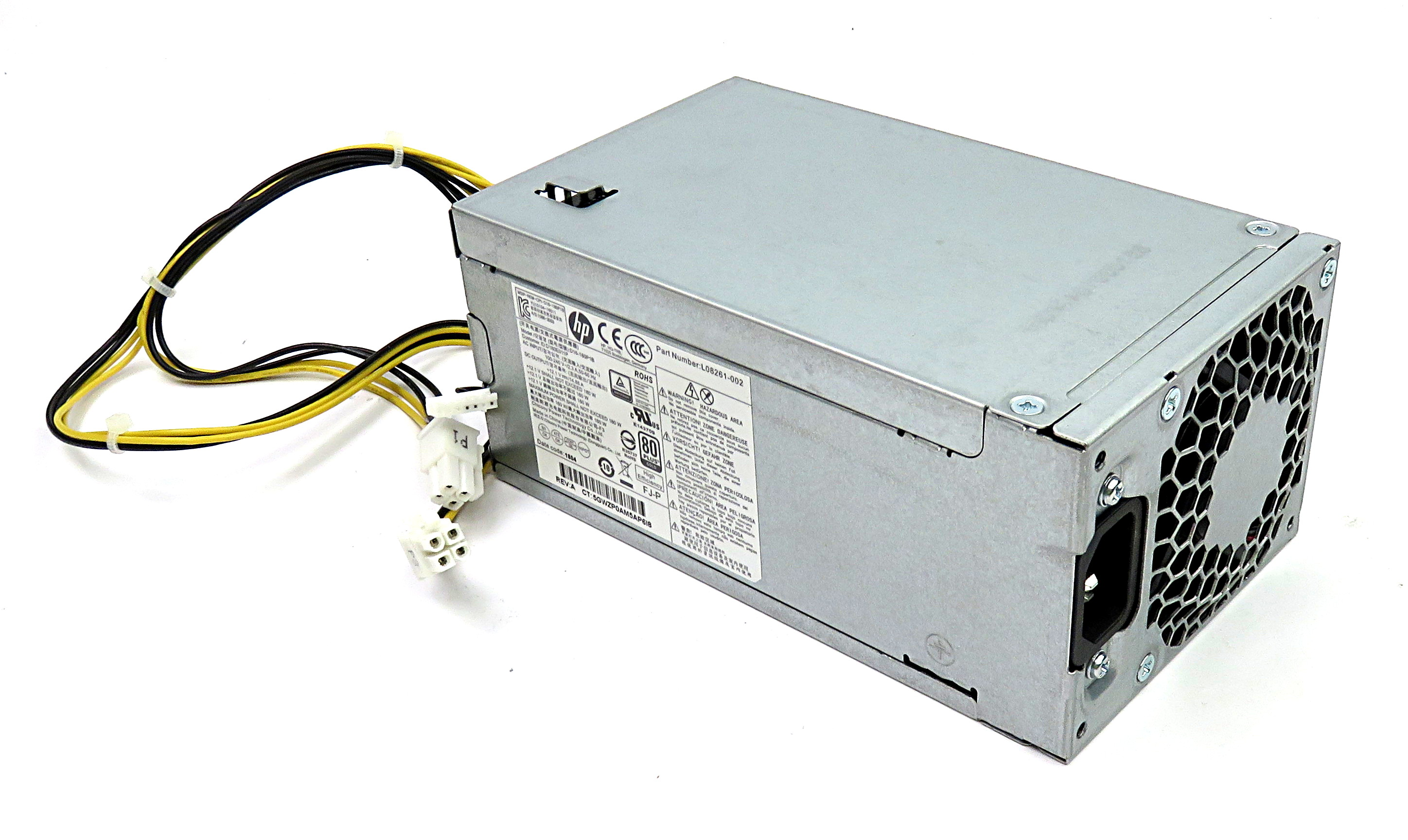HP L08261-002 180W Power Supply D16-180P1B f/ Pavilion 590-p0100na SFF PC