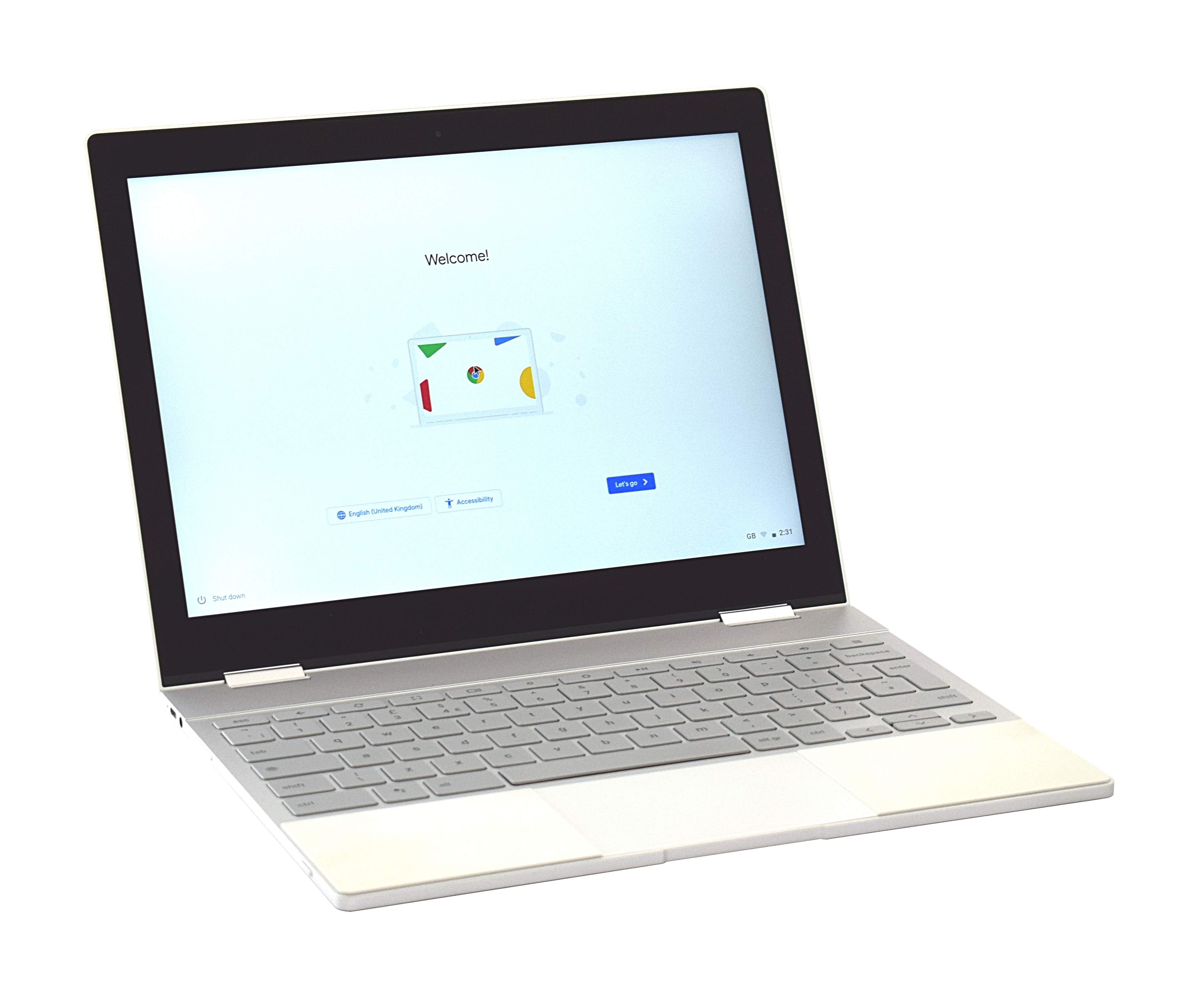 "Google Pixelbook Chromebook Core i5-7Y57 8GB RAM 256GB SSD 12.3"" Touchscreen"