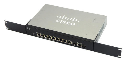 Cisco Small Business SF302-08PP 8-Port 10/100 2x Gbit PoE+ Managed Switch