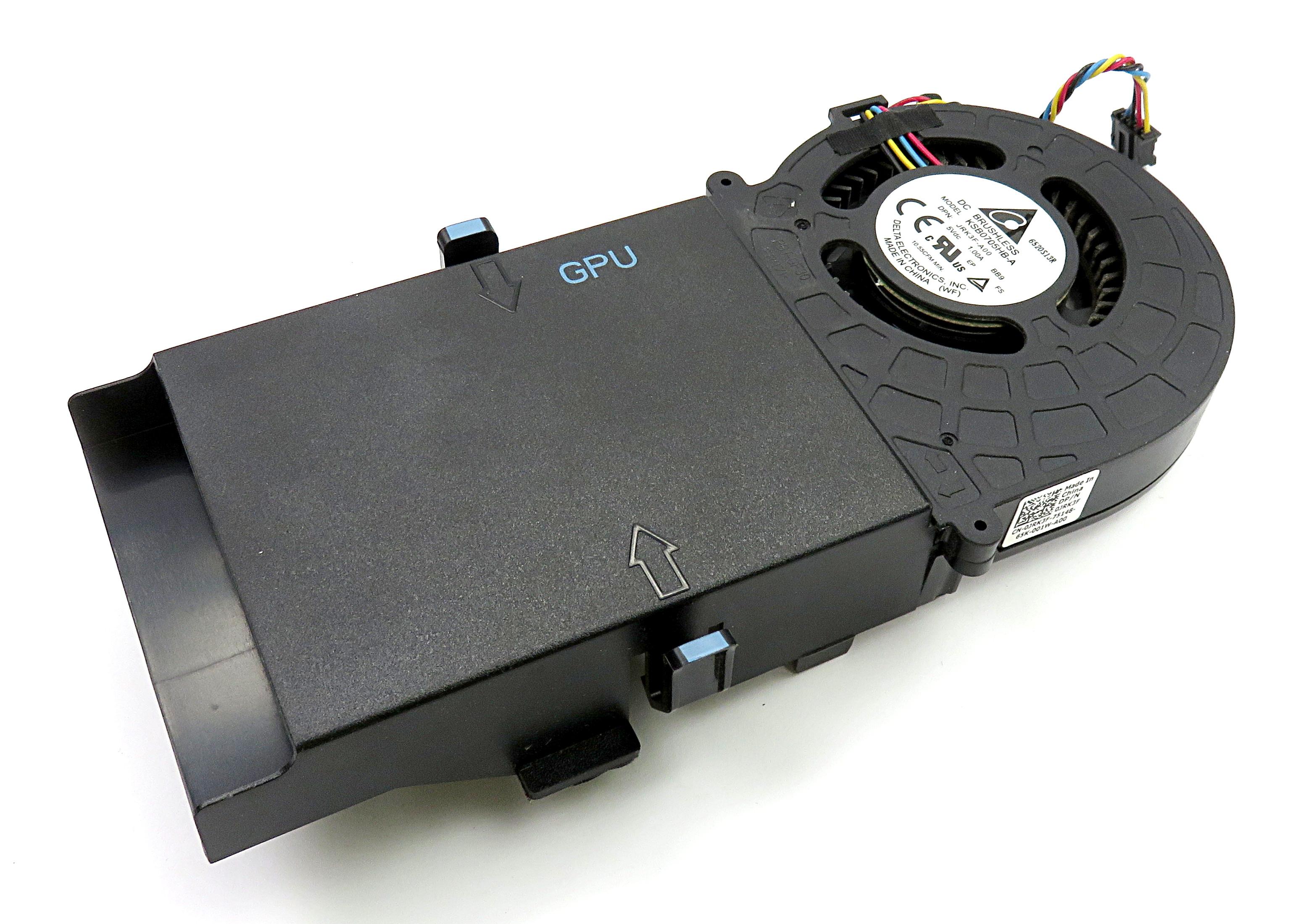 Dell JRK3F GPU Shroud & Fan Cooling Assembly f/ Alienware Alpha D07U Gaming PC