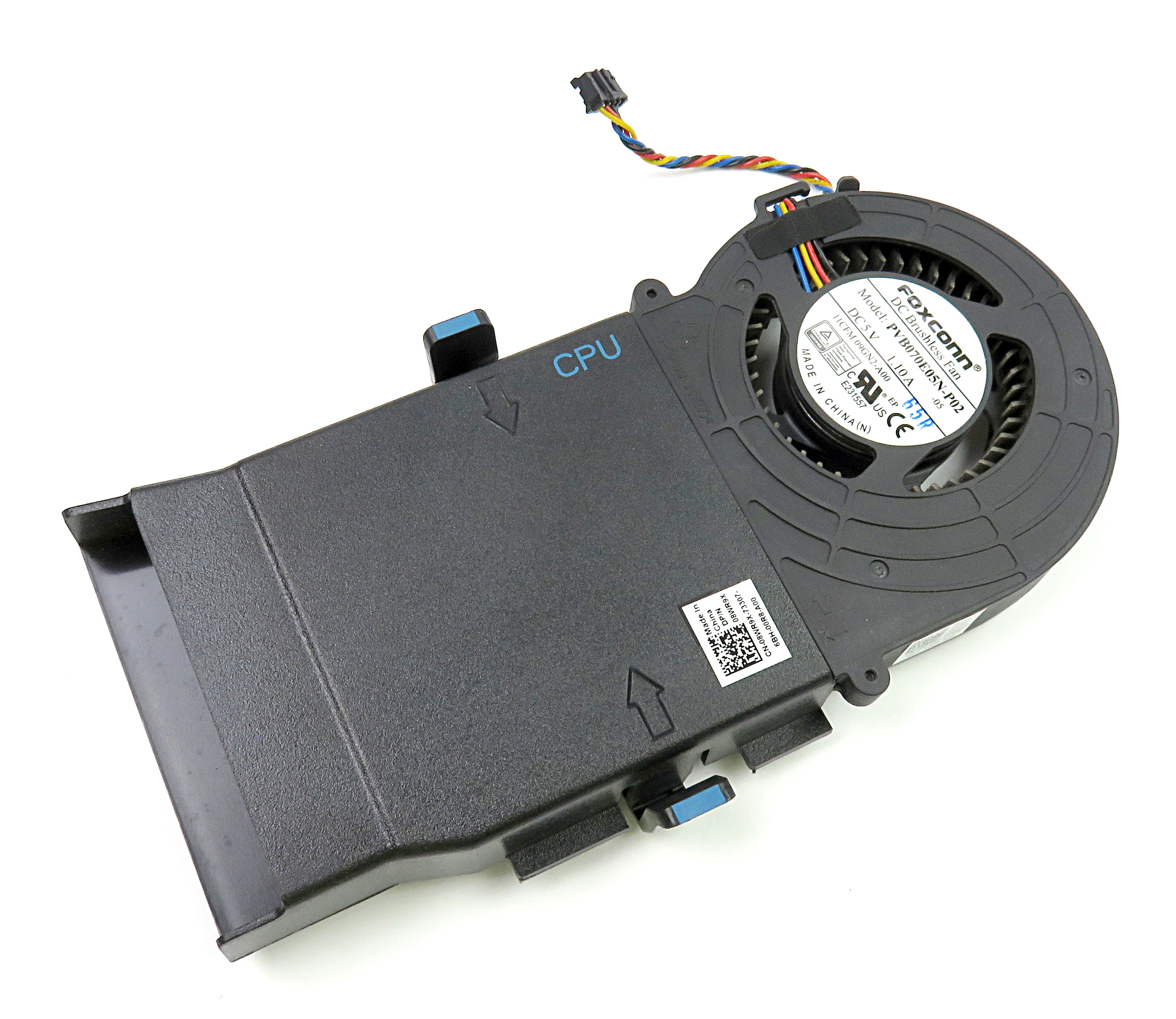 Dell 8WR9X CPU Shroud & Fan Cooling Assembly f/ Alienware Alpha D07U Gaming PC