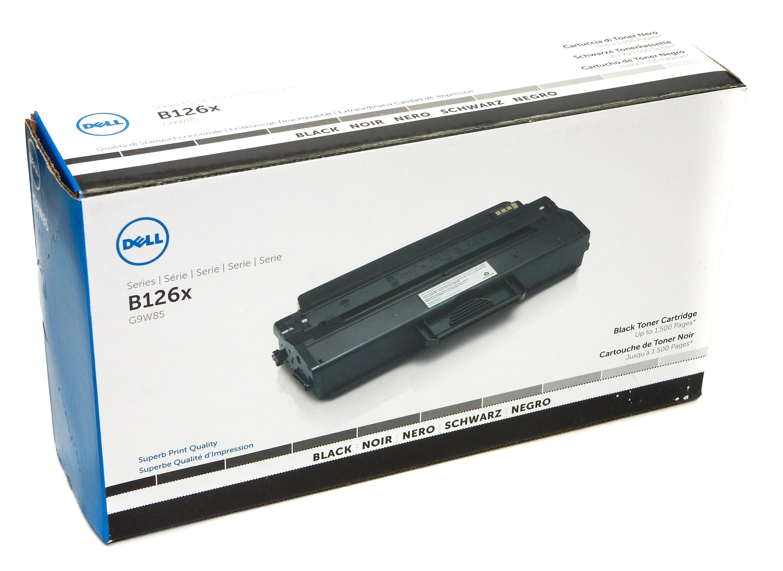 Dell B126x G9W85 Geniune Toner Cartridge Black