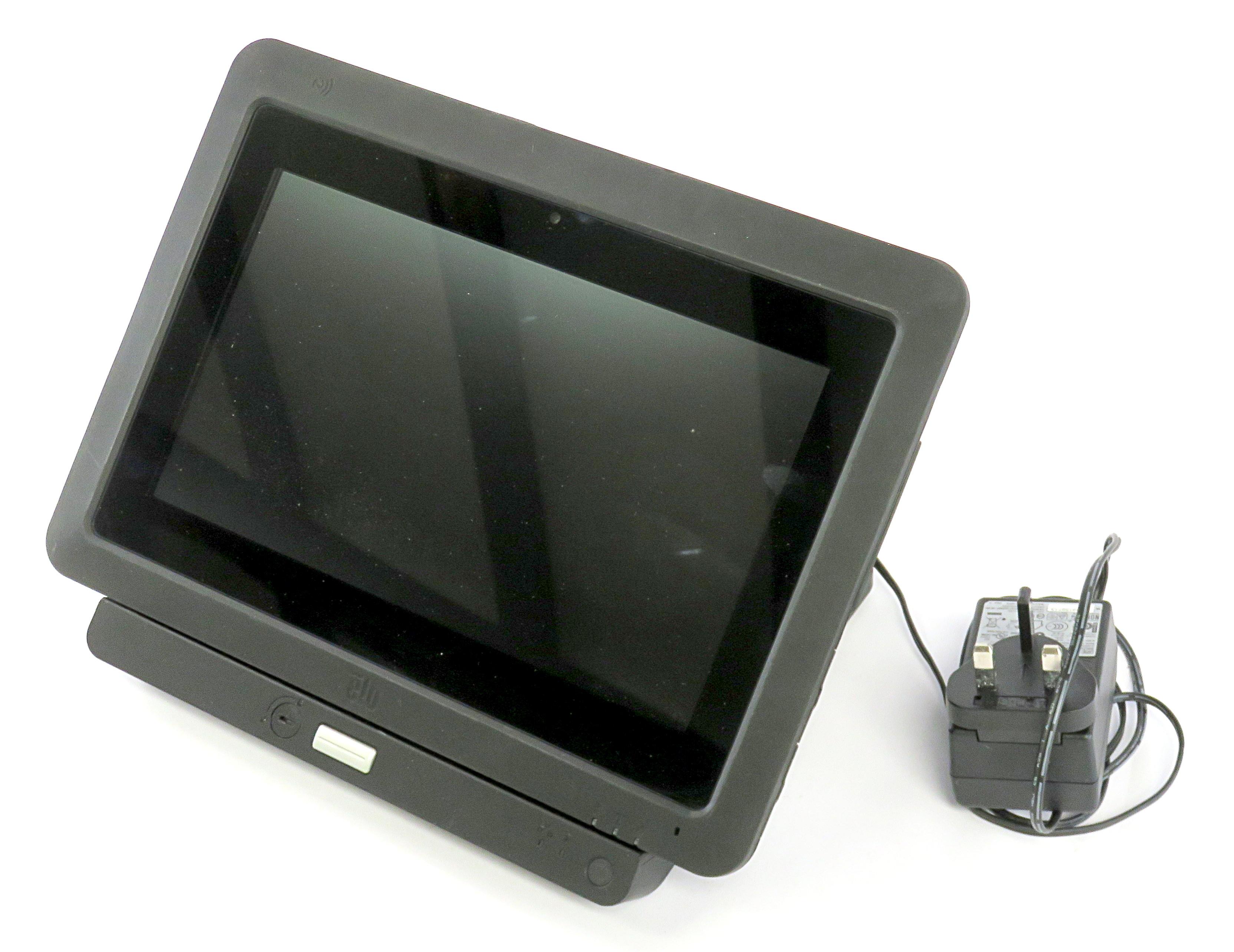 Elo Tablet ETT10A1 Rugged EPOS Tablet w/ Docking Station E518383 & PSU